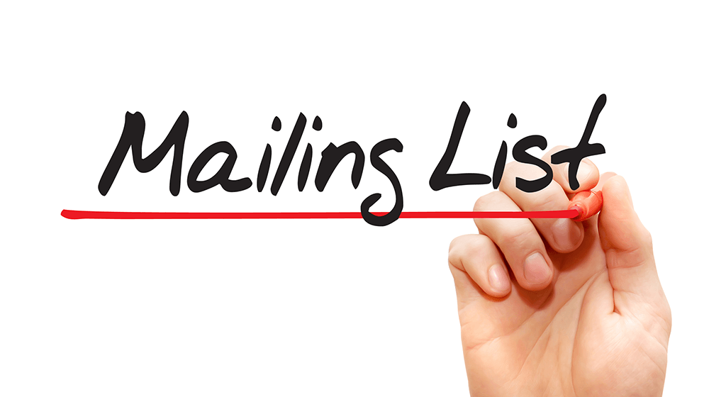 how to build and maintain your list