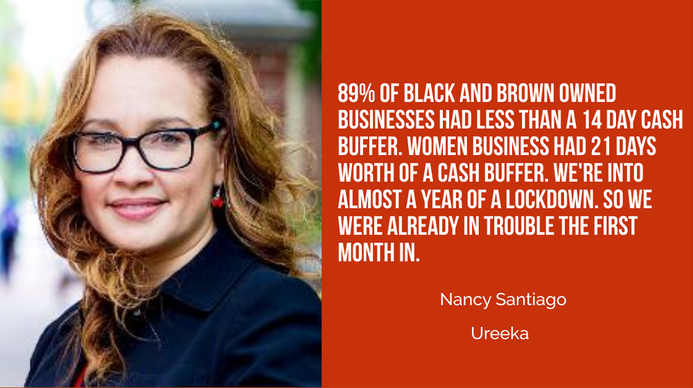 Nancy Santiago of Ureeka: Changes to PPP Should Help More Black and Brown Small Businesses Get Assistance This Time Around - Small Business Trends