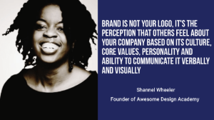 shannel wheeler brand is not your logo