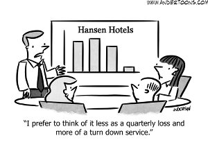 sales meeting spin cartoon