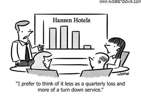 sales meeting spin cartoon