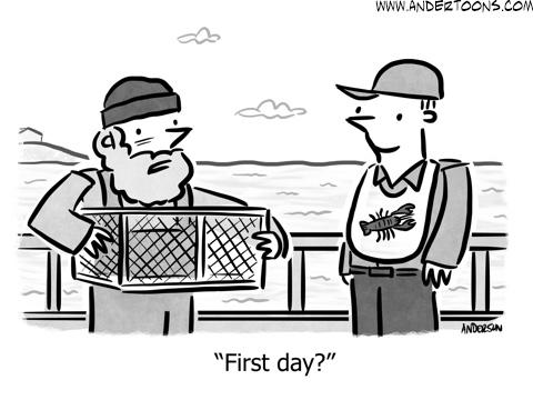 new employee training cartoon
