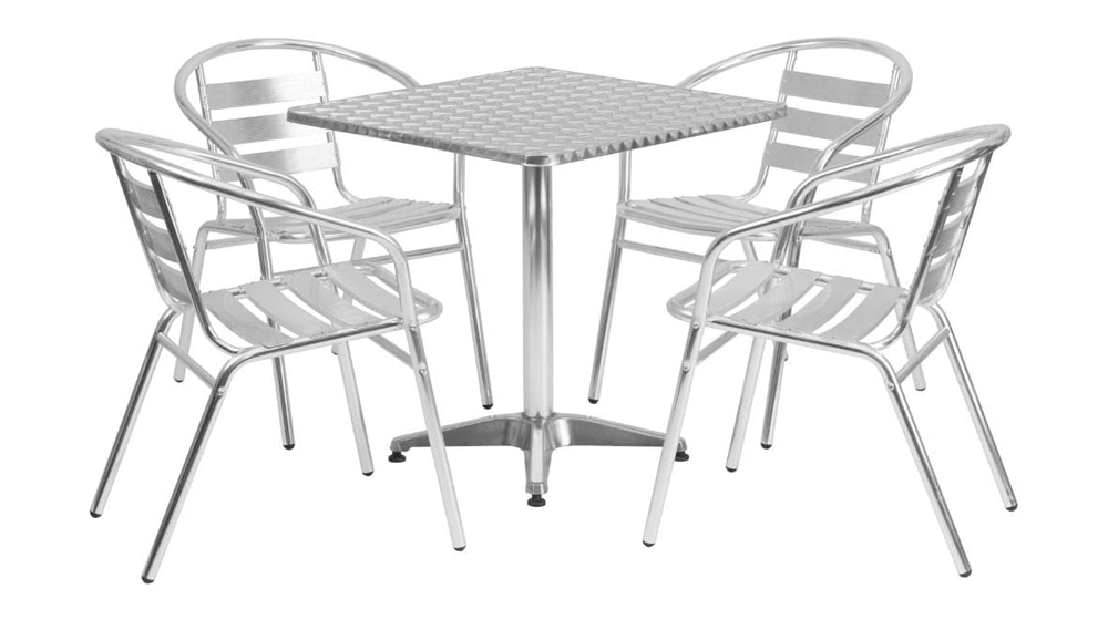 Flash-Furniture-27.5-Inch-Square-Aluminum-Indoor-Outdoor-Table-Set-with-4-Slat-Back-Chairs.png