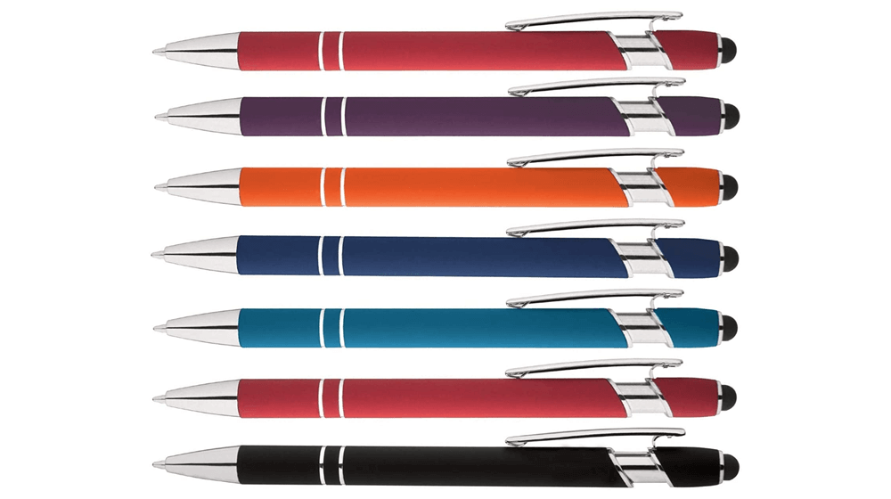 Rainbow-Rubberized-Soft-Touch-Ballpoint-Pen-with-Stylus-Tip-a-stylish-premium-metal-pen-black-ink-medium-point.png