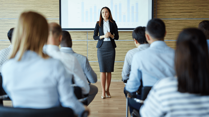 employee in person training