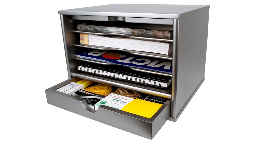 Victor-Wood-Desktop-Organizer-with-Closing-Door.png