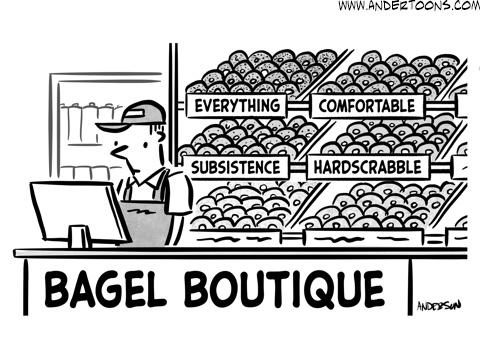 everything bagel cartoon