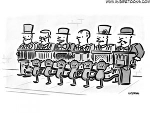 sidewalk sale cartoon
