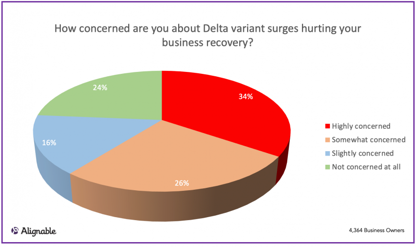 delta variant small business