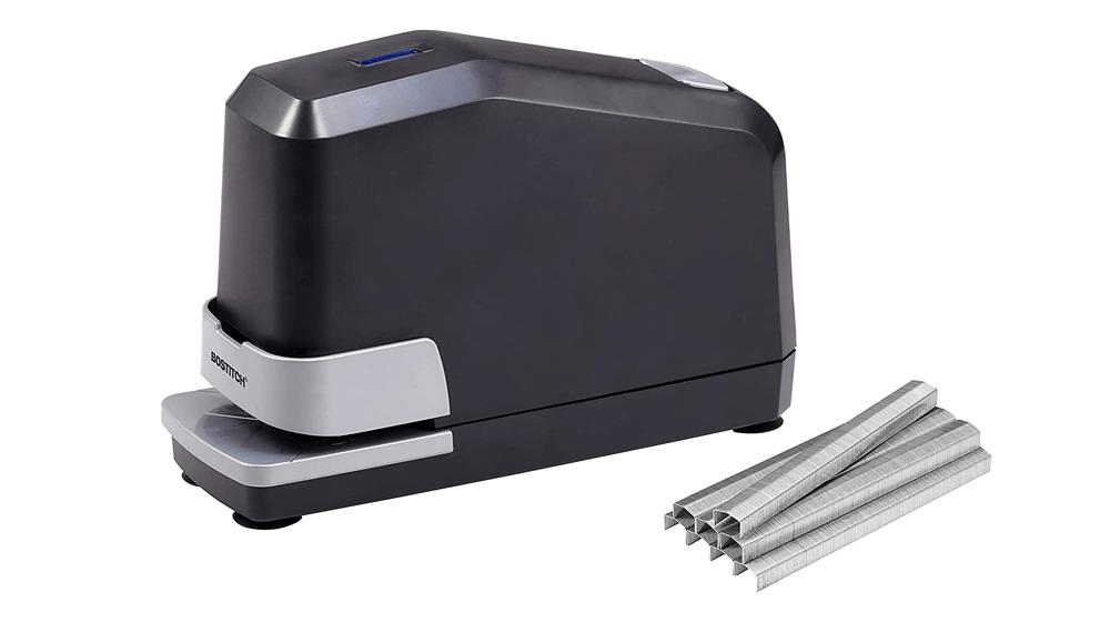 BOSTITCH Impulse 45 Sheet Electric Stapler Value Pack - Double Heavy Duty