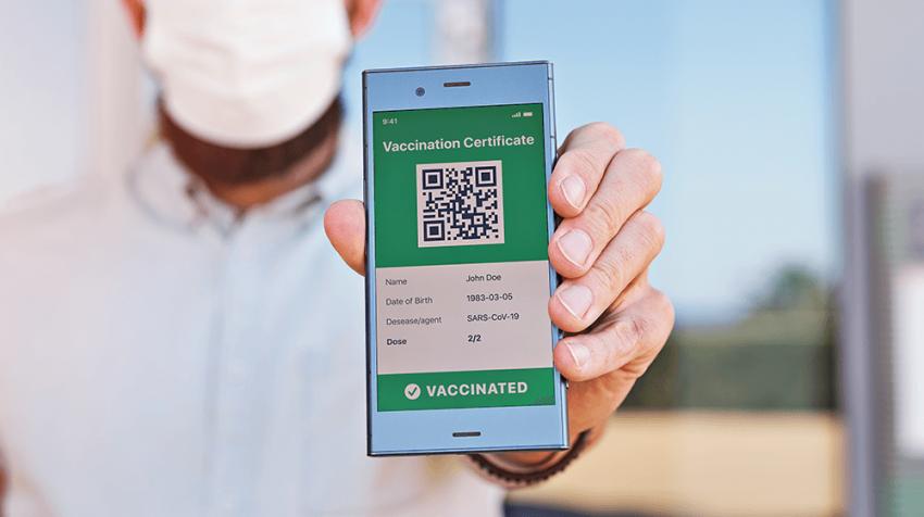 Dealing with Vaccine Passport Mandates