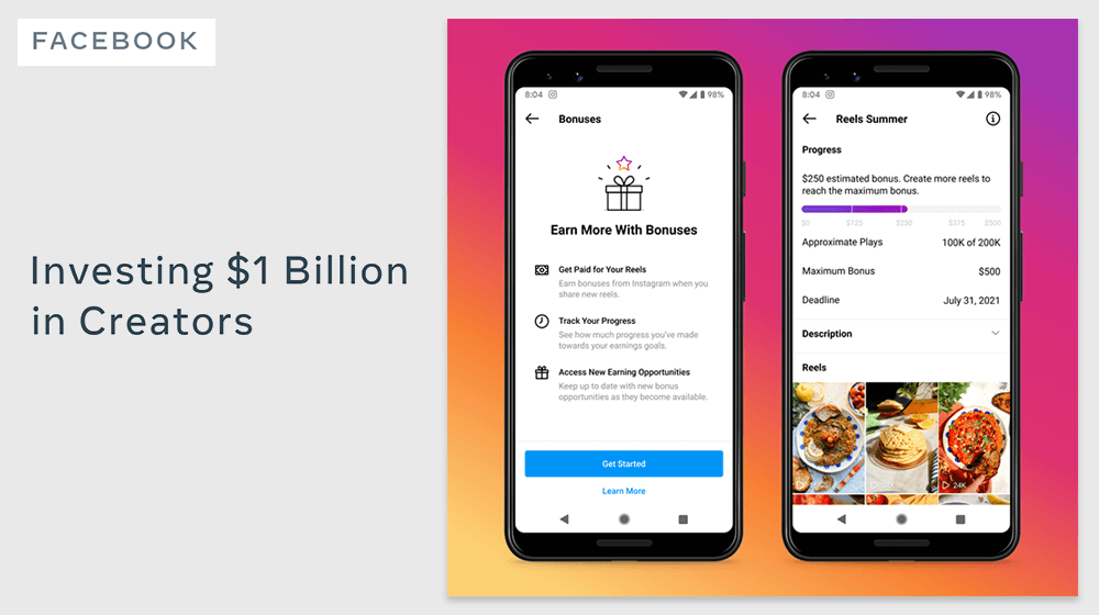 new creator fund from instagram and spring