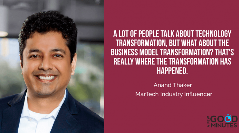 anand thaker martech industry influencer