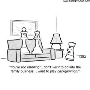 family business cartoon