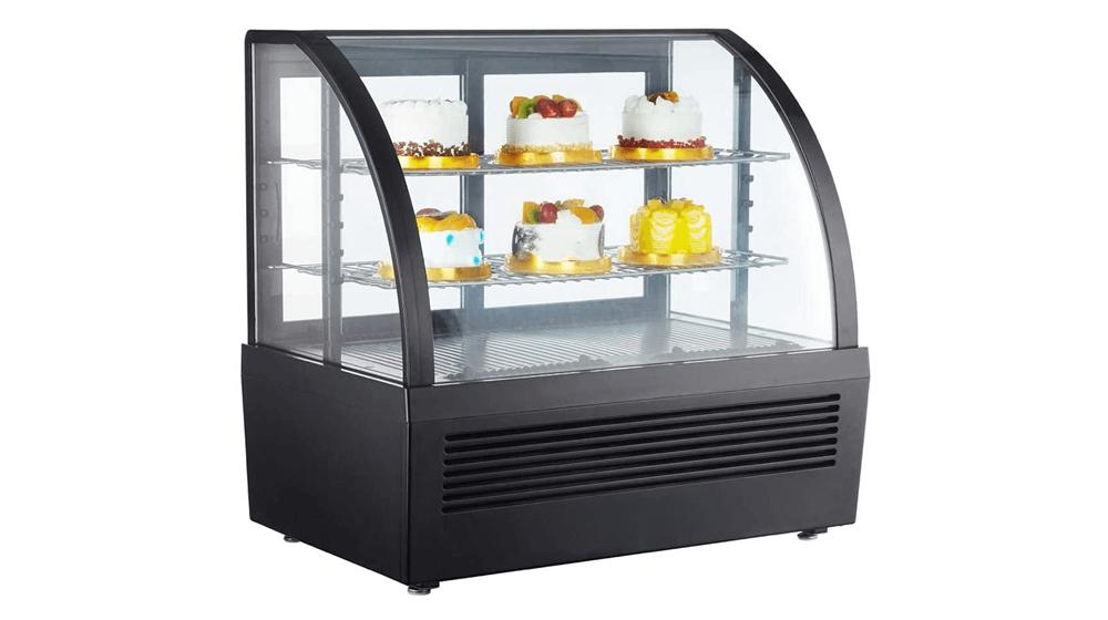 HayWHNKN 28inch Countertop Display Refrigerators Cake Showcase Bakery Display