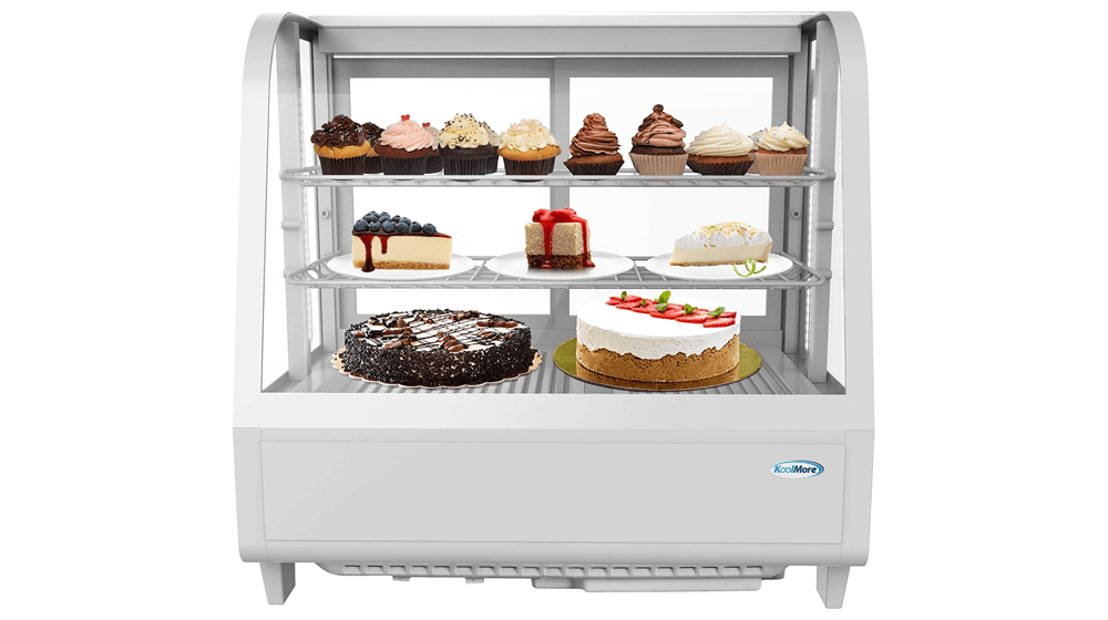 KoolMore Commercial Countertop Refrigerator Display Case