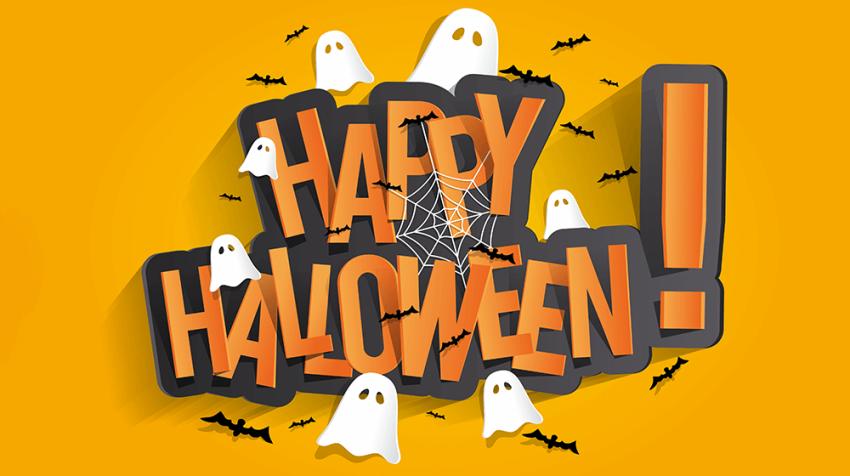 halloween business messages