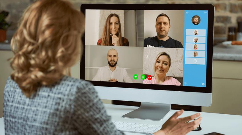 virtual team events